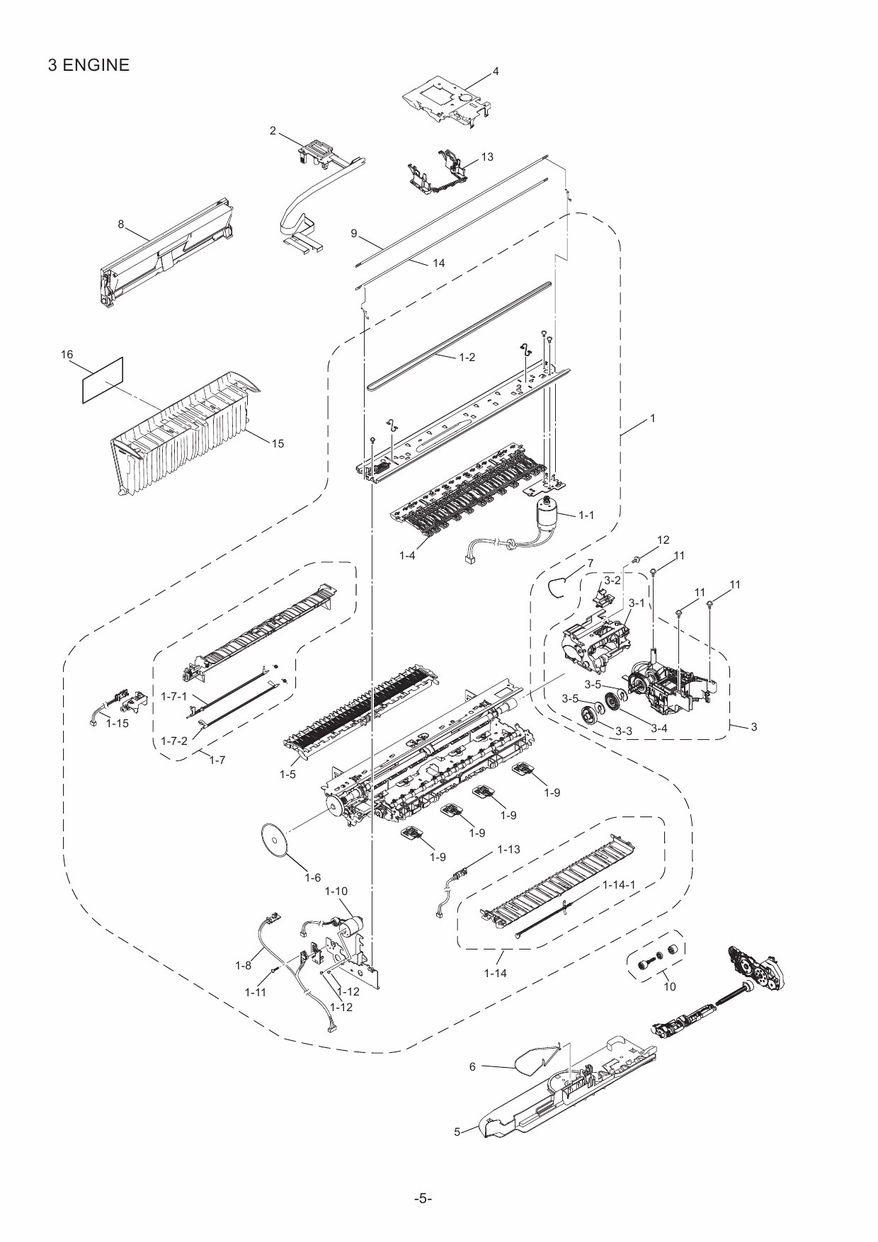 brother mfc 8950dw parts manual